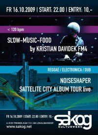 Noiseshaper Live Satellite City Album Tour@Kulturwerk Sakog
