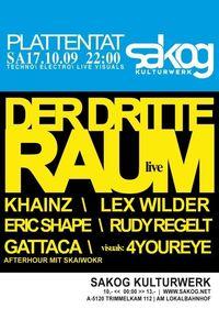 Plattent feat. Der 3. Raum live @Kulturwerk Sakog
