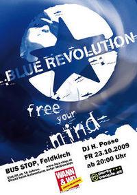 Blue Revolution  @Bus Stop