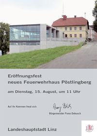 Depoteröffnung FF Pöstlingberg@FF-Haus Pöstlingberg