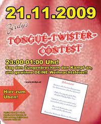 Tongue - Twister - Party@Birdys