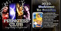Princess Club | Welcome to Sweden