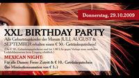 XXL Birthday Party | Mexican Night