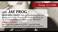 Live: Jay Frog | High Heel Night