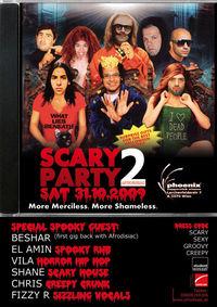 Afrodisiac - Scary Party II @Phoenix Supperclub