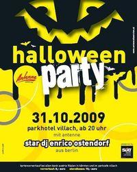 Antenne Kärnten - Halloweenparty@Parkhotel Villach