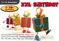 XXL Birthday