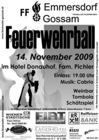 Feuerwehrball 2009