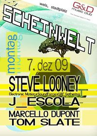 Scheinwelt holiday special@G&D music club