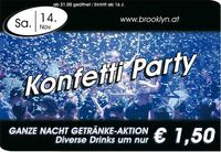 Konfetti Party@Brooklyn