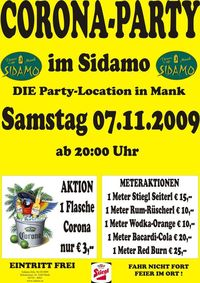 Corona-Party@Cafe Sidamo Mank