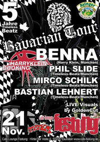 5 Jahre Timeless-Beatz Bavarian Tour@Festung