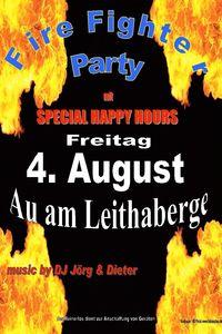 Fire Fighter Party@Feuerwehrhaus