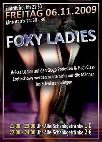 Foxy Ladies@Happy Nite