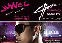 Chuckie remixer of  DAVID GUETTA@Juwel Club