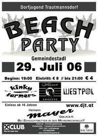 Beach Party 2006@Gemeindestadl