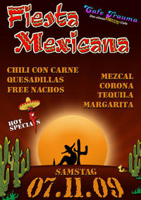 Fiesta Mexicana@Cafe Trauma
