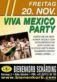 Viva Mexico Party@Bienenkorb Schärding