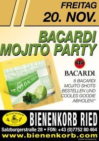 Bacardi Mojito Party@Bienenkorb Ried