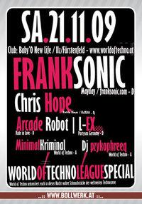 World of techno League Special@Baby'O