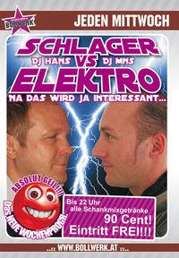 Schlager vs Elektro@Baby'O