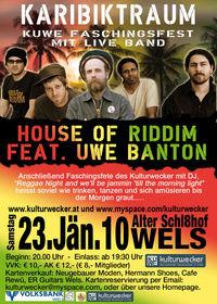 House of Riddim feat. Uwe Banton@Alter Schl8hof Wels
