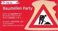 Baustellen Party
