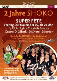 2 Jahre Shoko@Shoko Cafe | Lounge