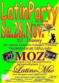Latin Party@Universität Mozarteum