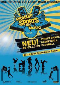 Midnight Sports & Music@Sporthalle Riedenburg