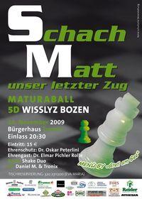 Schach Matt (Maturaball)@Bürgerhaus Tramin
