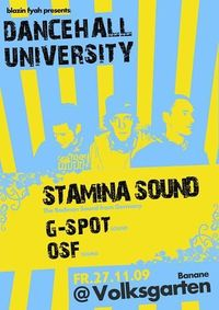 Dancehall University starring Stamina Sound (de)