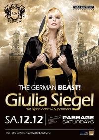 Giulia Siegel - The German Beast@Babenberger Passage