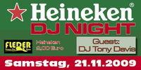 Heineken DJ Night mit Tony Davis