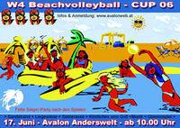 W4 Beachvolleyball - Cup 06@Avalon Anderswelt