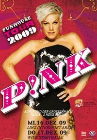 P!nk Funhouse Tour 09@Wiener Stadthalle