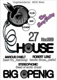 VIP - House Club Opening