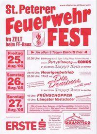 Feuerwehrfest St.Peter/Au@St.Peter/Au