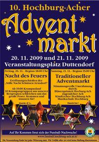 10. Hochburg-Acher Adventmarkt@Bauhofgelände