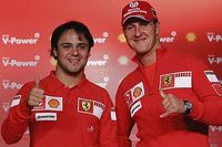 """Michael Schumacher """"stand up for the campion"""