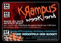 Krampus Weekend@Bienenstich
