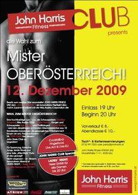 Wahl zum Mister Oberösterreich