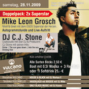 Mike Leon Grosch & CJ Stone @ Vulcano@Vulcano