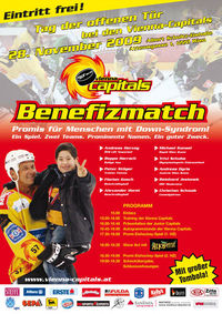Vienna Capitals Benefizmatch