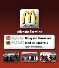 Mc Donalds Flashmob@Mc Donalds
