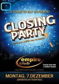 Empire Closing Party