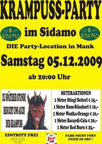 Krampus-Party@Cafe Sidamo Mank