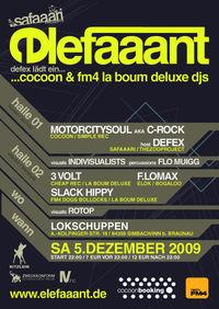 Safaaari presents Elefaaant @ Lokschuppen (D)@Lokschuppen