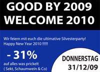 Good by 2009 - Welcome 2010