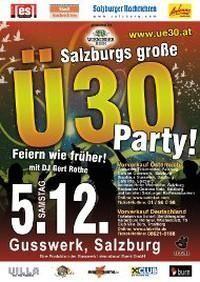 Salzburgs große Ü30 Party - Das Jahresfinale der Kultparty